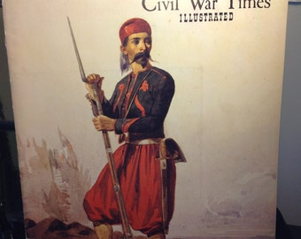 Civil War Illustrated Magazine Two Issues