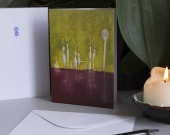 Greeting Card - Waiting