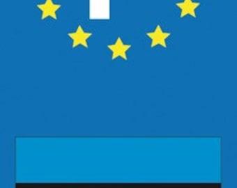 Stickers stickers Estonia license plates
