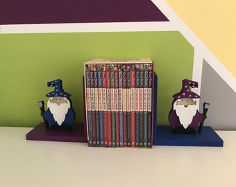 Wizard Bookends