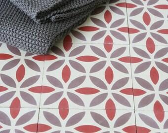 Contemporary Moroccan cement tiles