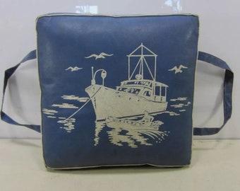 Vintage Boat Cushion