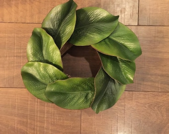 Small Magnolia Wreath (with or without wording)