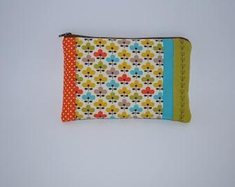 bag retro flower fabric quilt Kit