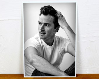 Ian Harding Poster Print - 2 sizes - A4 and A3