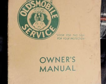 1936 Oldsmobile Six owner's manual