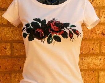 Wine and Roses Women's T-shirt