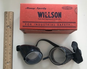 Willson Safety Goggles - Vintage