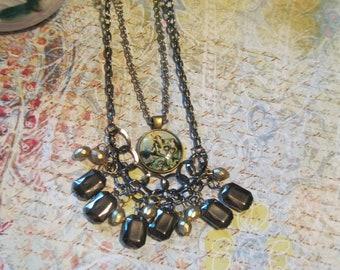 Mermaid & Bead Necklace