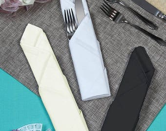 Fabric Cloth Napkin, 18-Inch x 18-Inch, 6-Piece