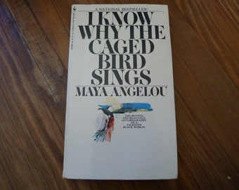 I Know Why The Caged Bird Sings MAYA ANGELOU paperback book