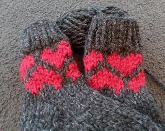 Kose Heart Slipper Socks
