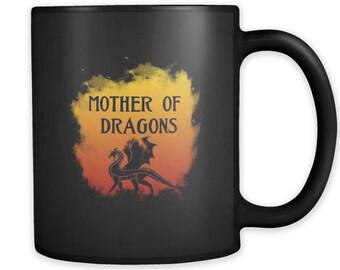 Awesome Dragons, Dragon Lovers Mystic Animal Black 11oz Mug
