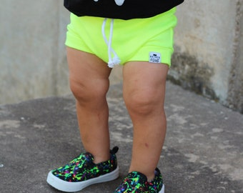 Chartreuse Neon Shorties