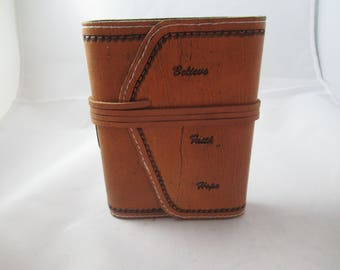 Soft Wrap Around Leather Journal