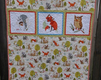 Forest Critters quilt