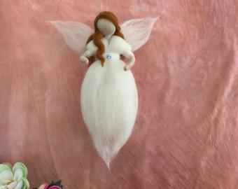 Neddle felted Angel