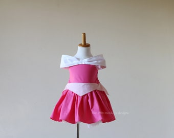 Aurora Costume - Sleeping Beauty Costume - Sleeping Beauty Dress - Aurora Dress - Cotton Princess Dress - Sleeping Beauty - Aurora -Princess