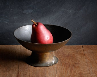 Red Pear in Brass Bowl, 2007