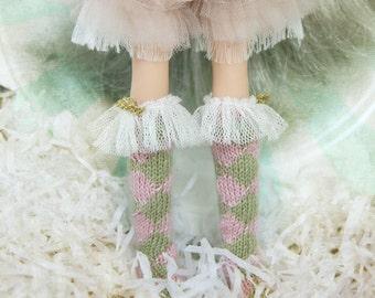 jiajiadoll - Pink Bunny Wonderland - pink layered shorts for Momoko or Misaki or Blythe