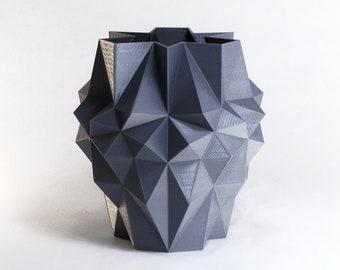 Pineapple Planter Geometric Gift Planter 3D Printed Vase Modern Art Interior Design Gift Futuristic Art Planter Pot