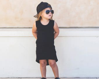 Baby girl, baby girl clothes, black baby clothes, girls maxi dress, baby maxi dress, toddler maxi dress, maxi dress, kids clothing
