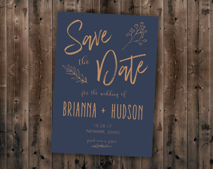 Save the Date Cards, Save the Date Postcards, Country Wedding Invitations, Woods Rustic Tree, Outdoors, Affordable, Save the Date Template