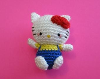 Hello Kitty Amigurumi Doll