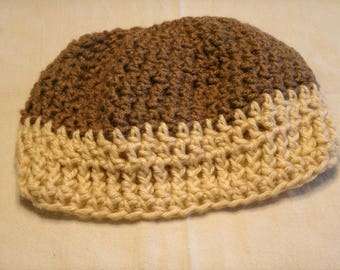 Neutral winter beanie