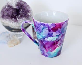 Small Hand Painted Mug, Cute Gift