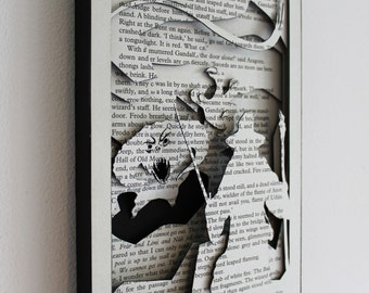 You Cannot Pass - 'Lord of the Rings' Hand Cut Silhouette Scene
