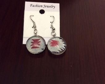 Native Print earrings