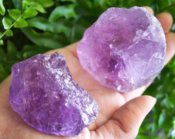 LARGE Amethyst Crystal, Bulk Amethyst, Quartz Crystals, Amethyst Rough, Amethyst Point, Raw Amethyst Stone, Desk Accessories, Purple Crystal