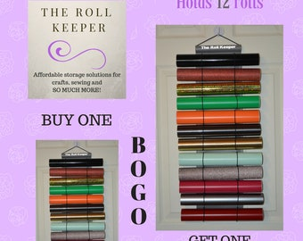 BYGO | Buy one get one for 2 dollars! | Holds 12 rolls | Small Roll Keeper