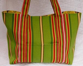 Beach Bag, Beach Tote, Fun Flip Flop Family Beach Bag XL Large Beach Tote Beach Stripe Beach Tote Bright Colorful Fun Flip Flop Beach Tote