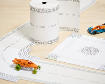 Paper Road On A Roll Ultimate Toy Car Track Kit.