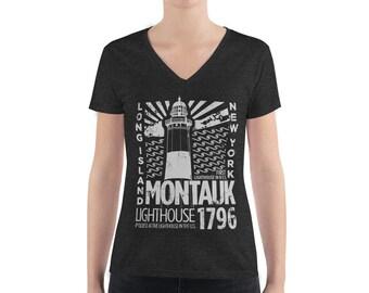 Montauk 1796 - Women's Deep V-neck