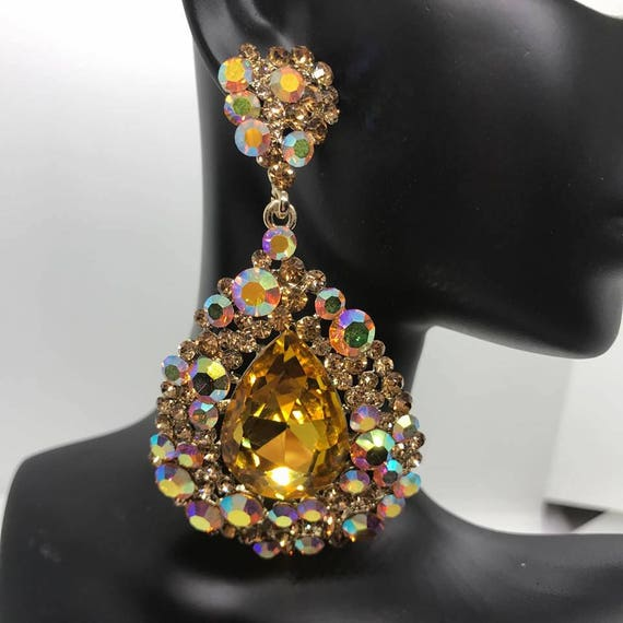 Big Earrings for Prom