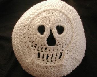 PDF  Crochet  PATTERN Bone Head Beanie or Slouchy