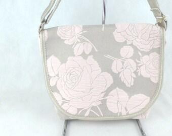 Pink flap Messenger bag