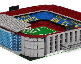 FC Barcelona - Camp Nou Stadium, Brick Model