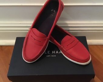 Cole Haan Nantucket Loafer Red Size 6.5