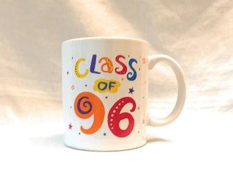 VTG Hallmark Class of 1996 Coffee Mug