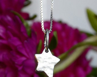 Shine Brightly Sterling Silver Star Necklace