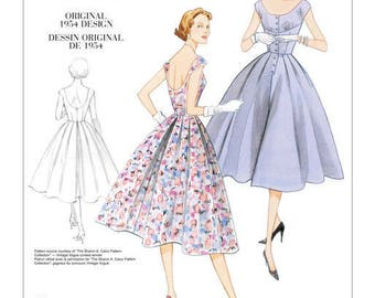By Vogue V2960 retro vintage sewing pattern