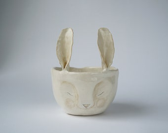 Ceramic Bunny Pot