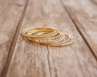 Out of stock!  Womens Thin Bracelet, gold thin bangle bracelet, gold thin bracelet, gold bangle, minimal bracelet, simple bracelet