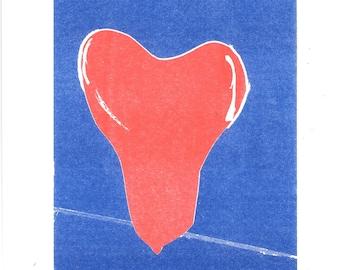 Heart Risograph