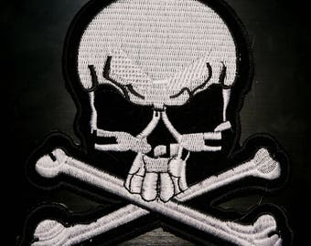 Skull patch Iron On Patch