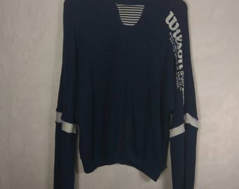RARE! Vintage WILSON sweatshirt. Dark blue colour.